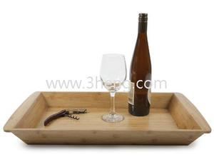 Large country tray by core bamboo