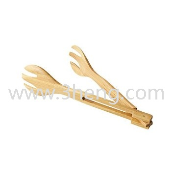 Bamboo Studio Collapsible Bamboo Salad Tongs