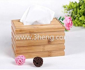 Bamboo tissue box tray pumping high-grade bamboo napkin box